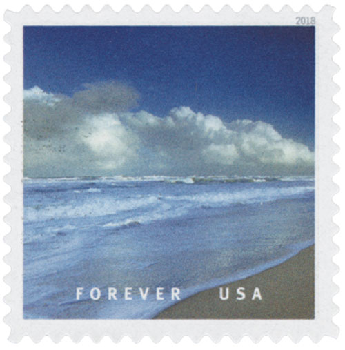 2018 First-Class Forever Stamp - Canaveral National Seashore, Florida