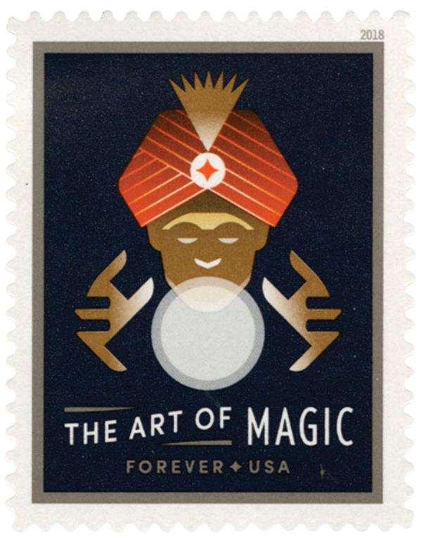 2018 First-Class Forever Stamp - The Art of Magic: Fortune Teller