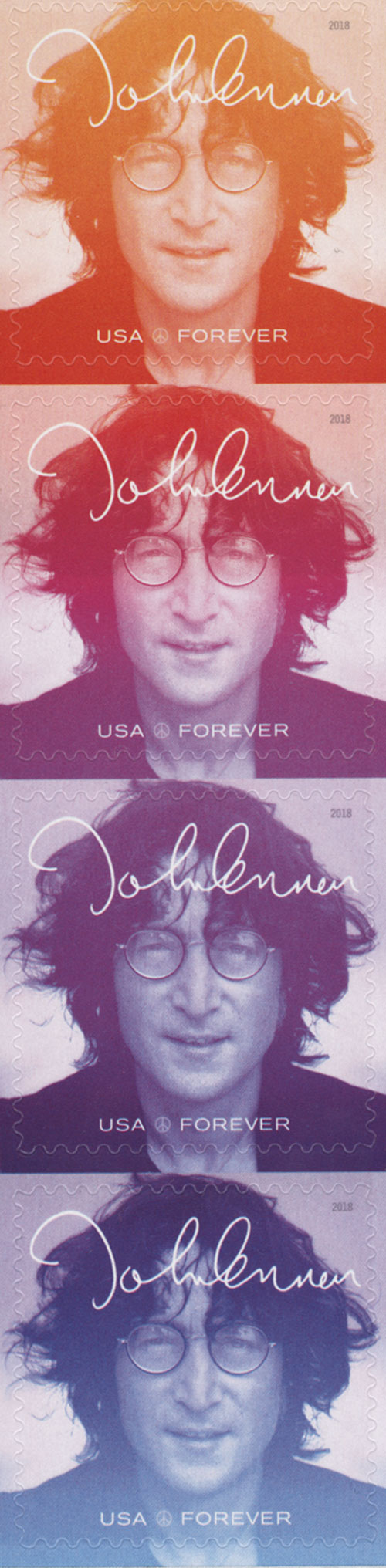 2018 First-Class Forever Stamp - Music Icons Series: John Lennon