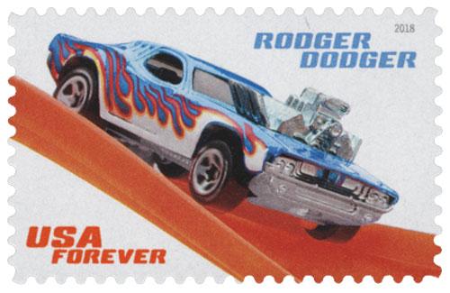 2018 Rodger Dodger stamp