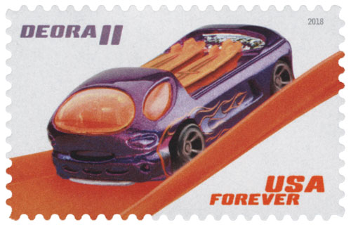 2018 First-Class Forever Stamp - Hot Wheels: Deora II - 1968