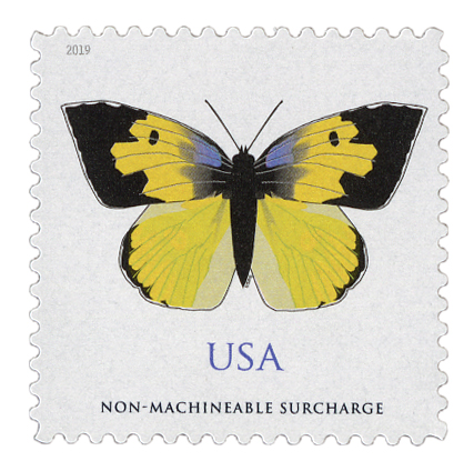 2019 70c California Dogface Butterfly