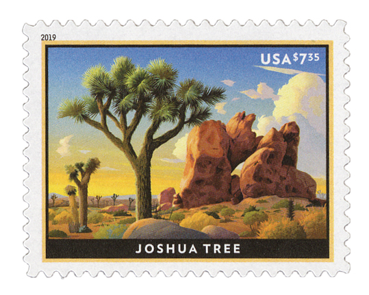 2019 $7.35 Joshua Tree - Priority Mail