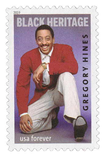 2019 First-Class Forever Stamp - Black Heritage: Gregory Hines