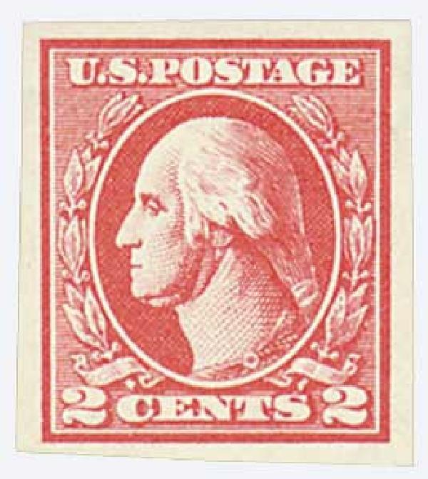 1920 2c Washington, carmine, type VII