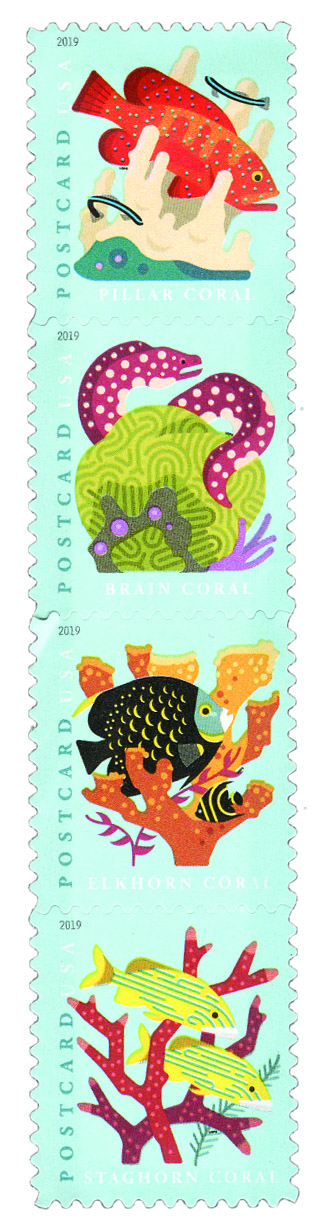 2019 35c Coral Reefs