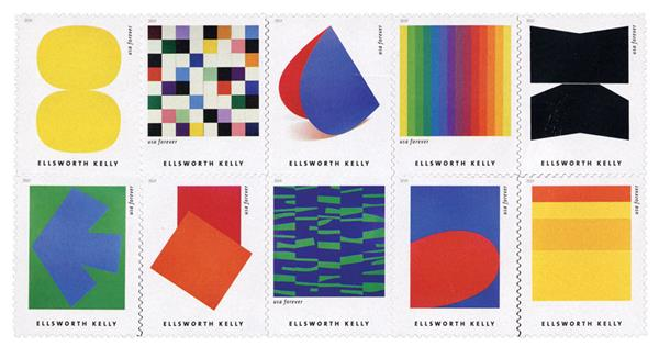 2019 First-Class Forever Stamp - Ellsworth Kelly