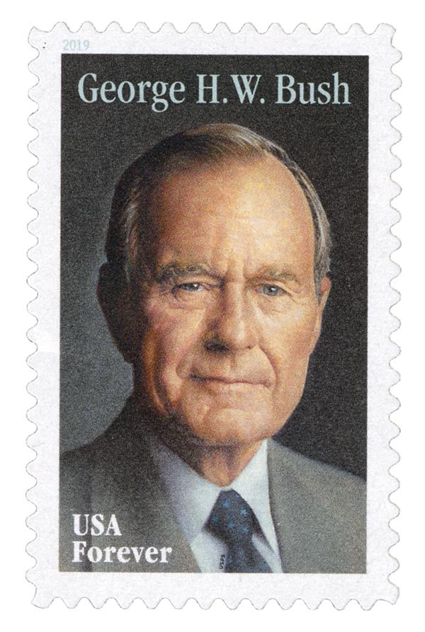 2019 First-Class Forever Stamp - George H.W. Bush