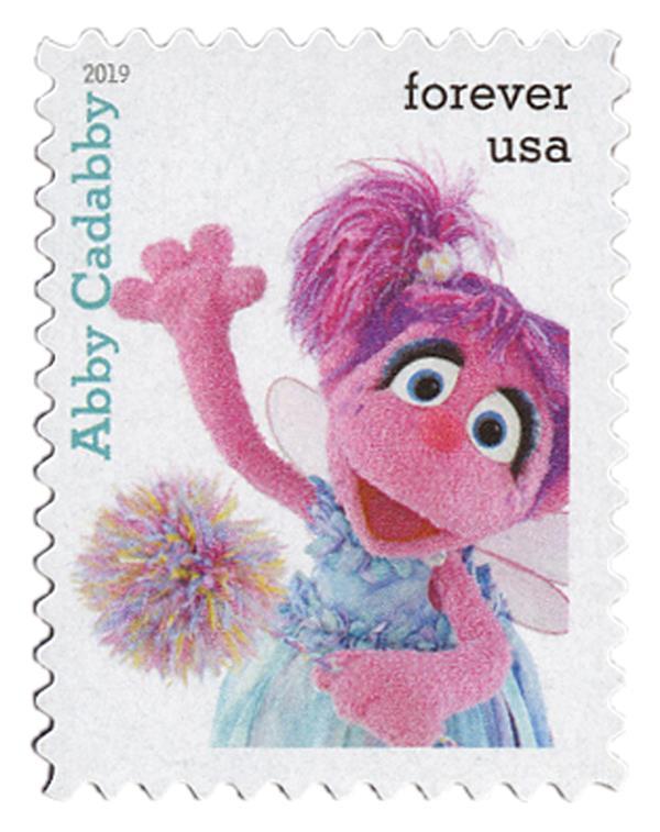 2019 First-Class Forever Stamp - Sesame Street: Abby Cadabby