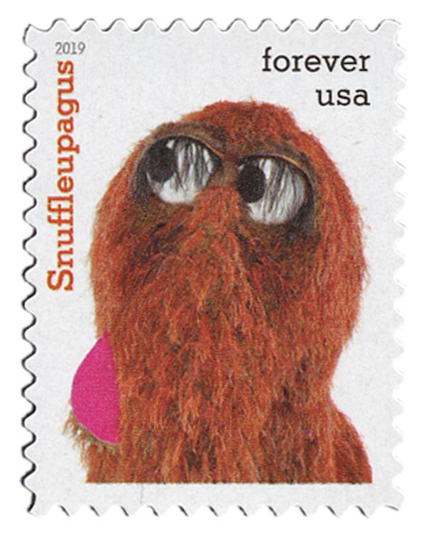 2019 First-Class Forever Stamp - Sesame Street: Snuffleupagus