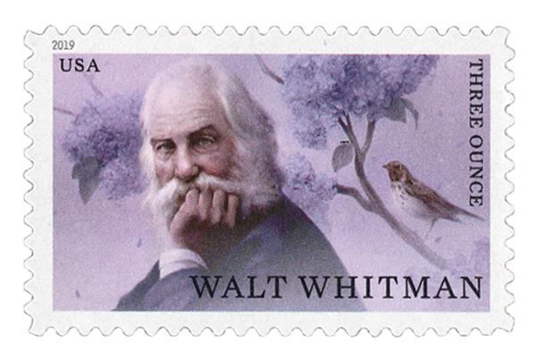 2019 85c Literary Arts: Walt Whitman