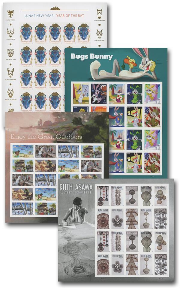 2020 Commemorative Sheets