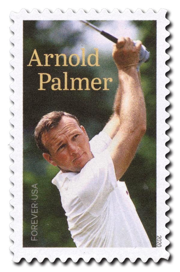 2020 First-Class Forever Stamp - Arnold Palmer