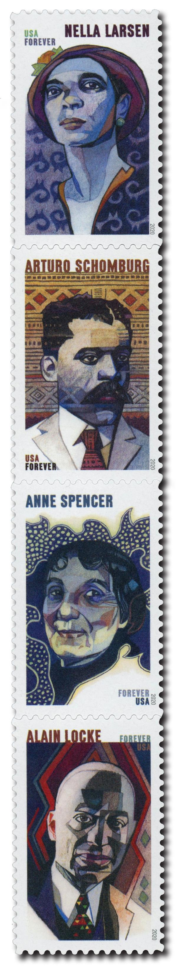 2020 First-Class Forever Stamps - Voices of Harlem