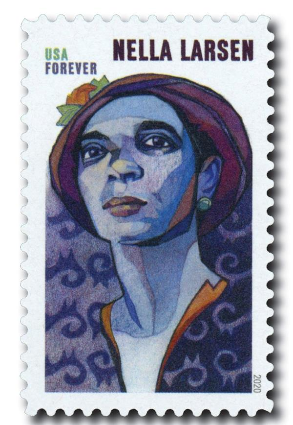 2020 First-Class Forever Stamp - Voices of Harlem: Nella Larsen