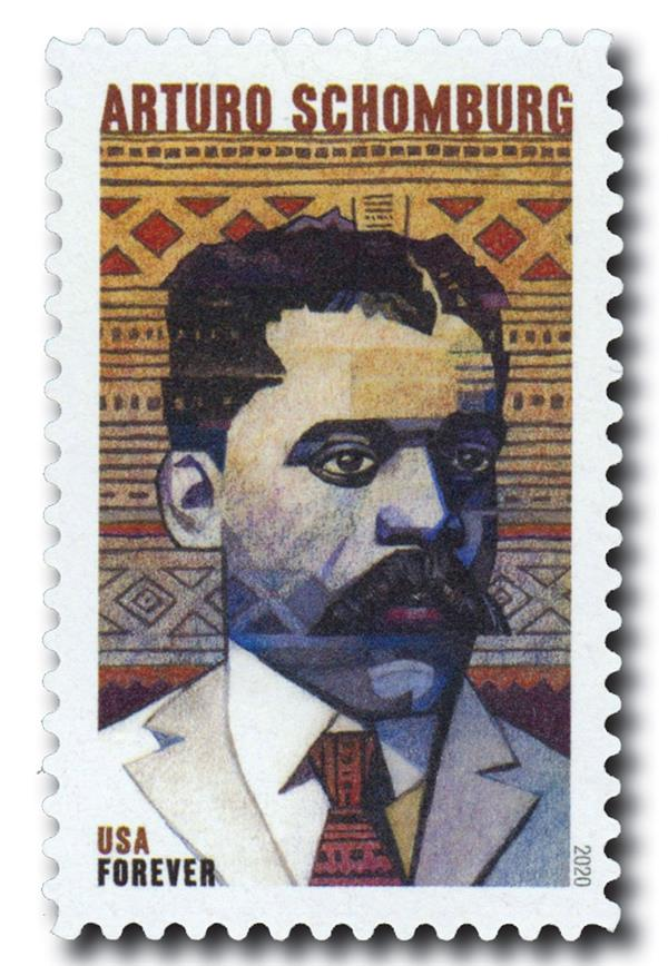 2020 First-Class Forever Stamp - Voices of Harlem: Arturo Alfonso Schomburg
