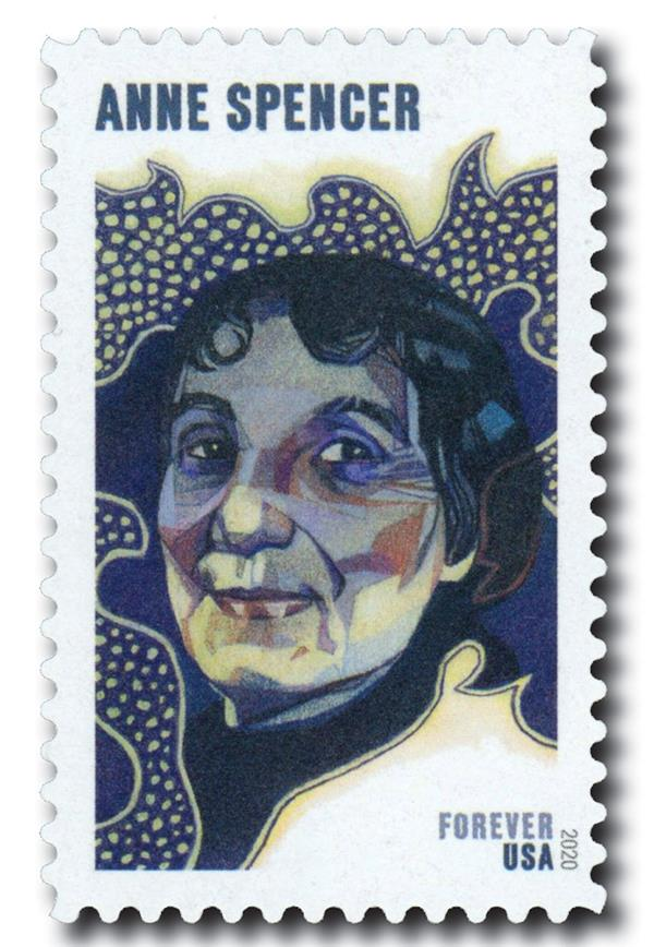 2020 First-Class Forever Stamp - Voices of Harlem: Anne Spencer