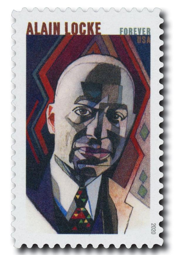 2020 First-Class Forever Stamp - Voices of Harlem: Alain Locke