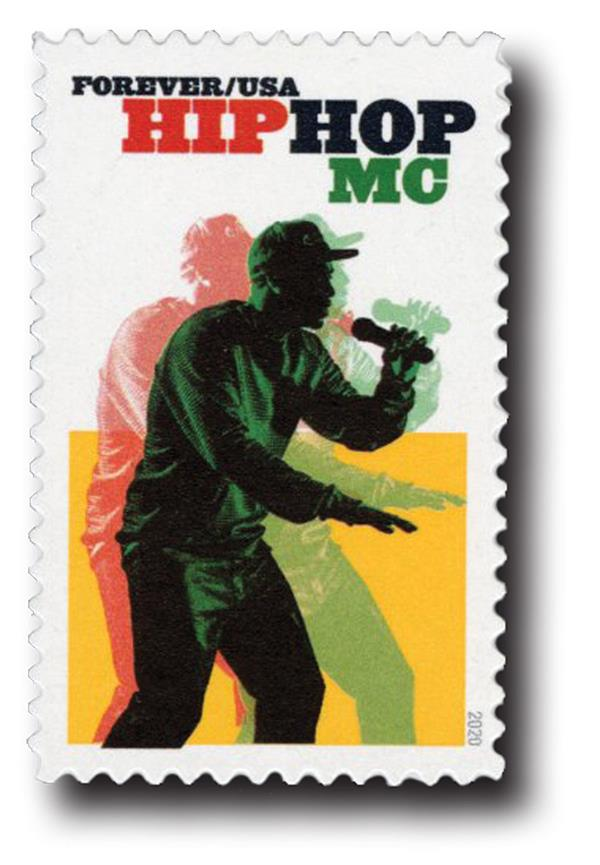 2020 First-Class Forever Stamp - Hip Hop: MCing