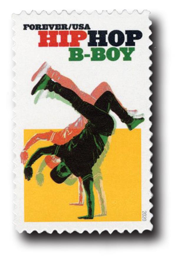 2020 First-Class Forever Stamp - Hip Hop: B-Boy