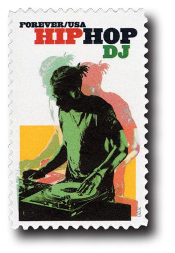 2020 First-Class Forever Stamp - Hip Hop: DJ