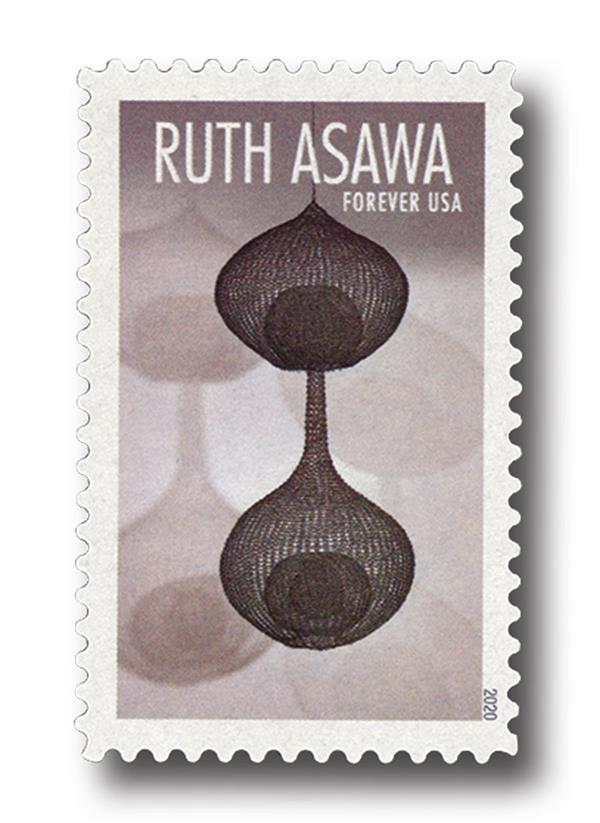 2020 First-Class Forever Stamps - Ruth Asawa: Two-Lobed, Three-Layered Continuous Form within a Form