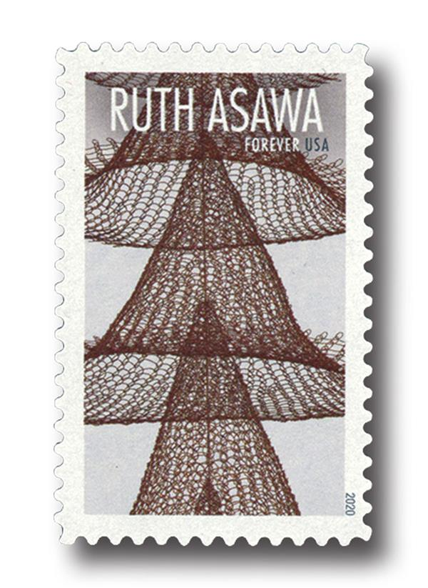 2020 First-Class Forever Stamps - Ruth Asawa: Eight Seperate Cones Suspended