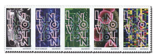 2020 55c First-Class Forever Stamps - Innovation