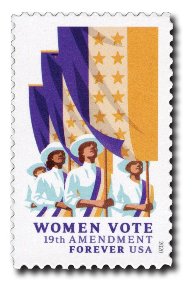 2020 First-Class Forever Stamp - 19th Amendment: Women Vote