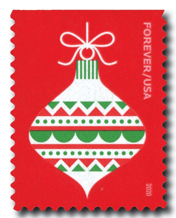 2020 First-Class Forever Stamp - Holiday Delights: Ornament