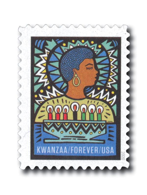 2020 First-Class Forever Stamp - Kwanzaa