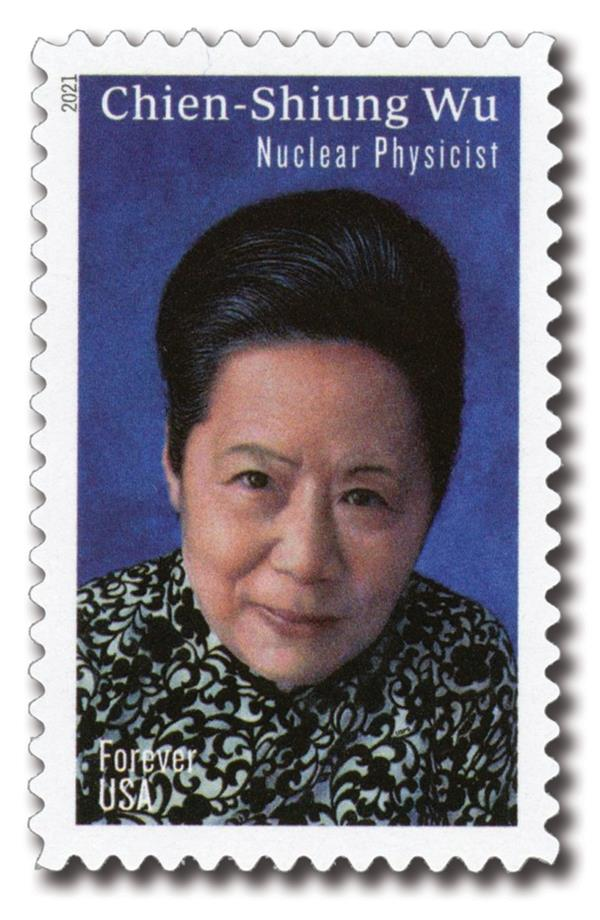 2021 First-Class Forever Stamp - Chien-Shiung Wu