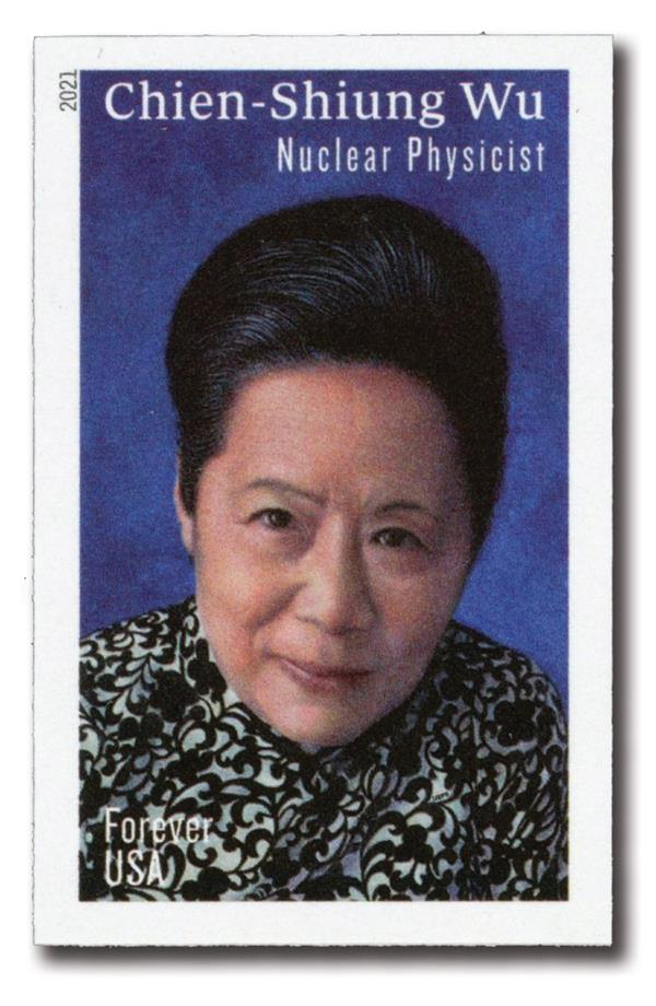 2021 First-Class Forever Stamp - Imperforate Chien-Shiung Wu