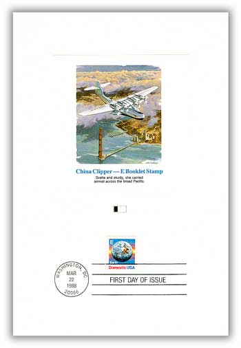 Item #55680 – First Day Proof Card with China Clipper artwork.
