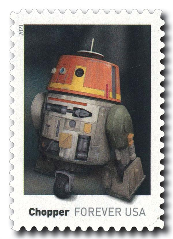 2021 First-Class Forever Stamp - Star Wars Droids: Chopper