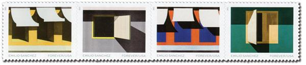 2021 First-Class Forever Stamps - Emilio Sanchez