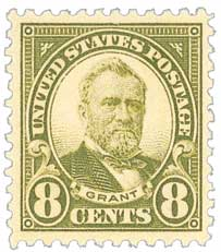 1923 8c Grant, olive green