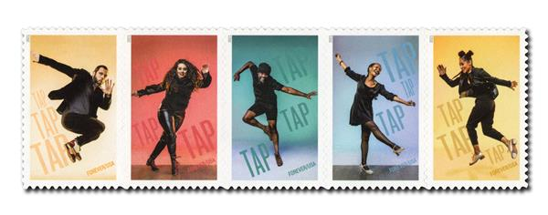 2021 First-Class Forever Stamps - Tap Dance