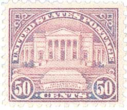 1922 50c Arlington Amphitheatre