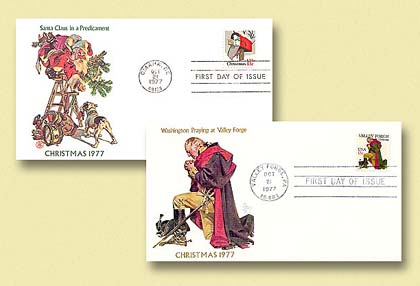 1988 Christmas 1977 Set of Two Covers