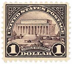 1923 $1 Lincoln Memorial