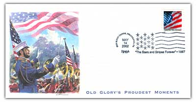 2002 Stars and Stripes Forever commemorative cover