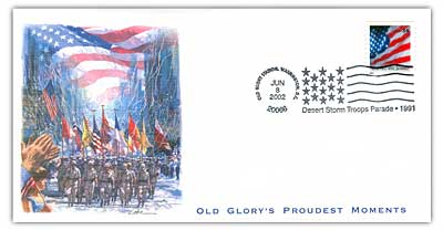2002 Old Glorys Proudest Moments - Desert Storm Troops Parade