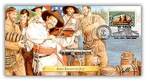 "2004 Lewis & Clark ""First 4th of July"" Commemorative Cover"