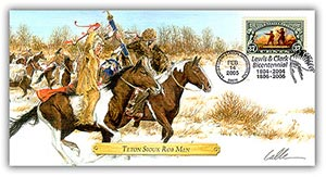 2004 L&C Sioux Rob Men Commemorative Cover
