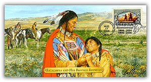 2005 L&C Sacagawea & Brother Reunite Commem
