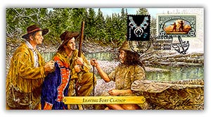 2006 Lewis & Clark 'Leaving Fort Clatsop' Commemorative Cover