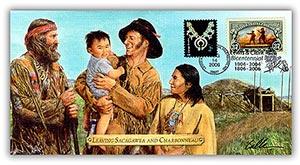 "2006 Lewis & Clark ""Leaving Sacagawea and Charbonneau"" Commemorative Cover"