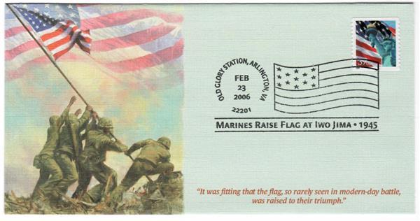2006 OGPM Marines Raise Flag at Iwo Jima
