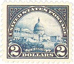 U.S. #572 was issued as part of a series to replace the Washington-Franklins.